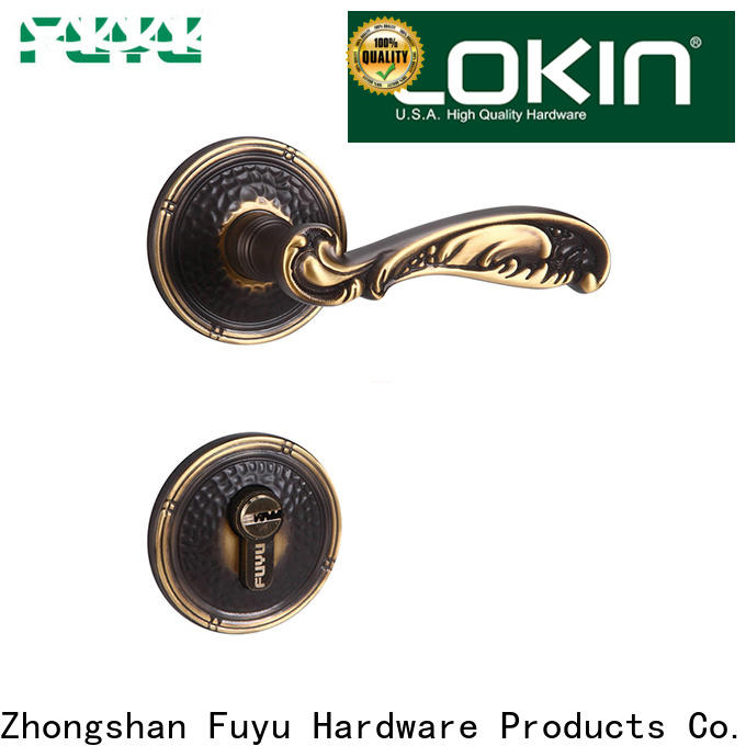 FUYU handle flush door lock on sale for home