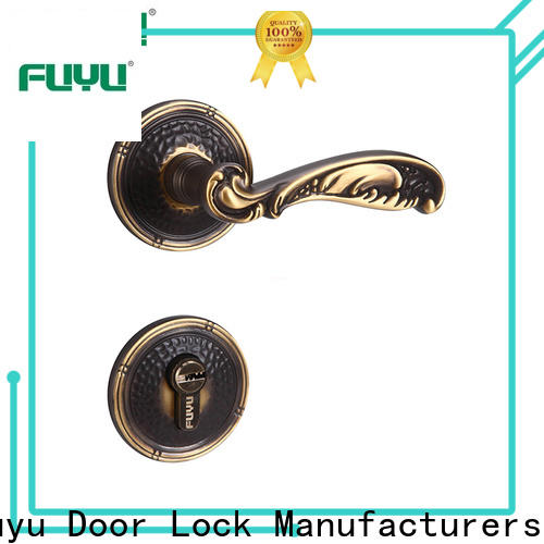 FUYU new door lock supplier for entry door