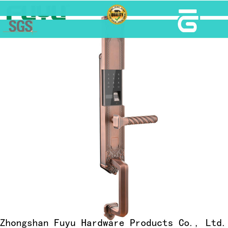 FUYU biometric fingerprint lock with international standard for gate