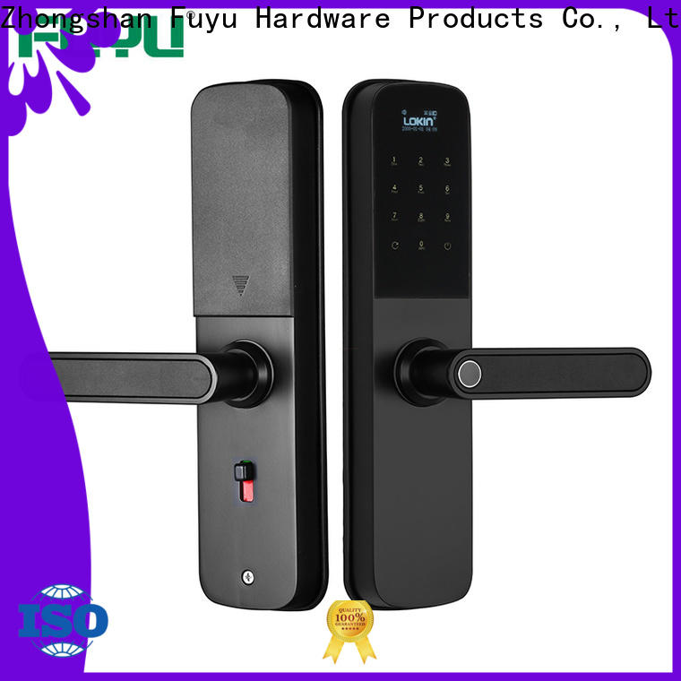 FUYU electronic entry lock with international standard for entry door