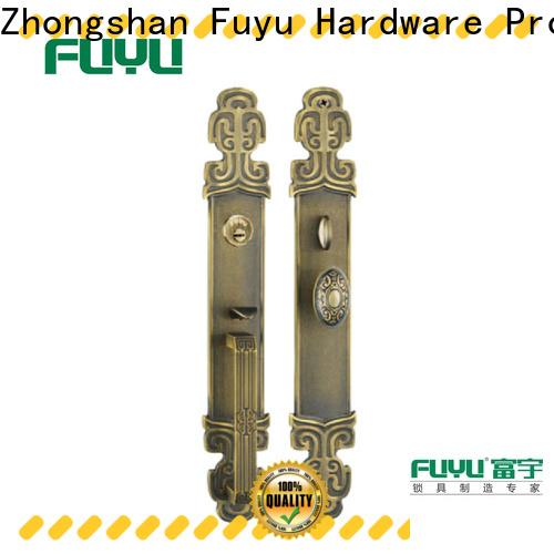 FUYU high -tech custom brass door lock on sale for shop