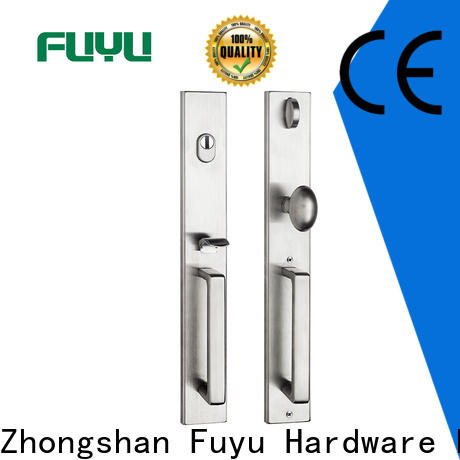 FUYU ss stainless steel security door lock extremely security for home