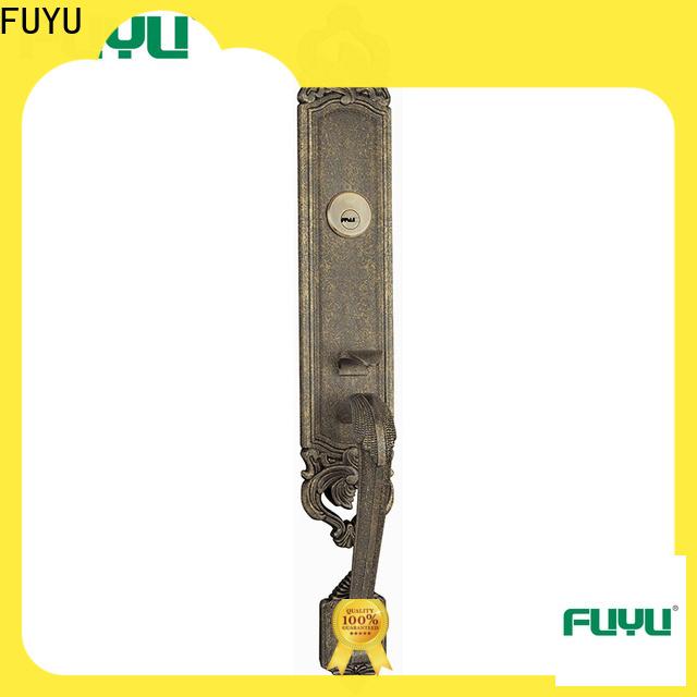 FUYU key customized zinc alloy door lock on sale for entry door