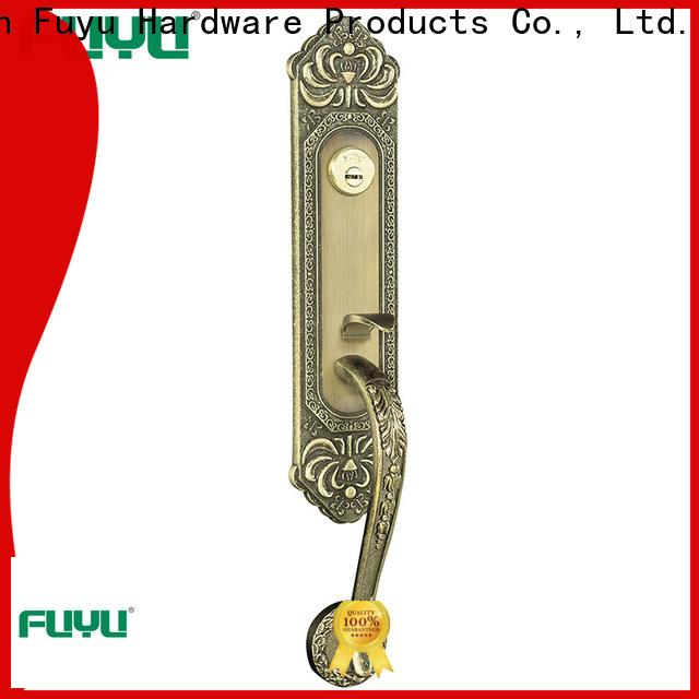 FUYU solid zinc alloy door lock for timber door meet your demands for indoor