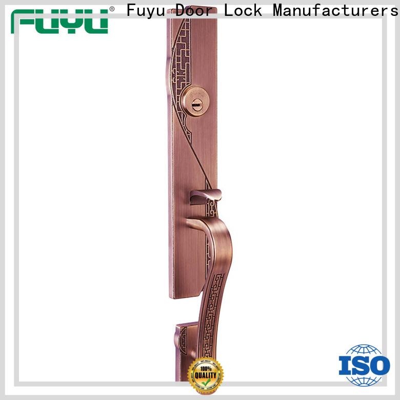 FUYU custom zinc alloy door lock for wooden door with latch for indoor