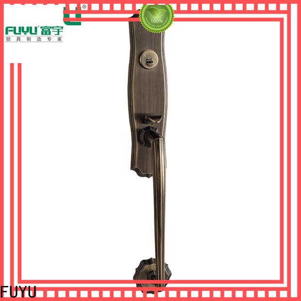 FUYU long zinc alloy lock with latch for shop