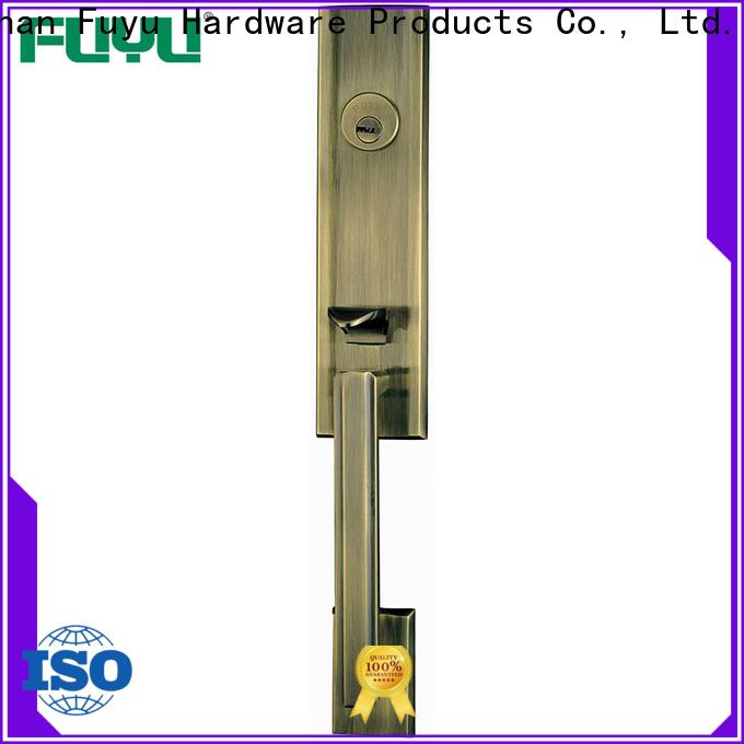 durable bathroom door handle with lock alloy on sale for indoor