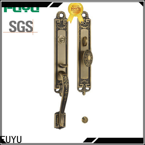 FUYU zinc mortise locks with latch for residential