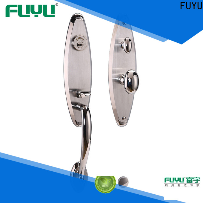 stronge stainless steel door locks double with international standard for mall