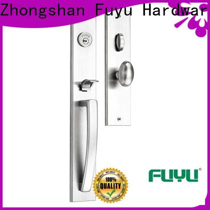 FUYU durable stainless steel door locks with international standard for shop