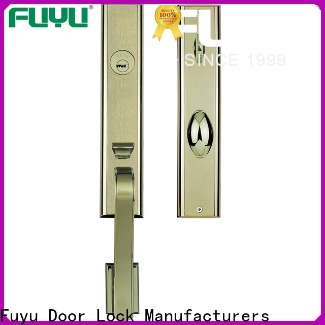 quality bathroom door handle with lock cylinder on sale for shop