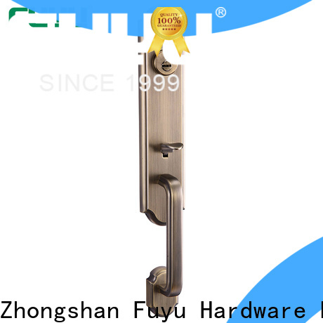 FUYU turn security door locks for homes with latch for indoor