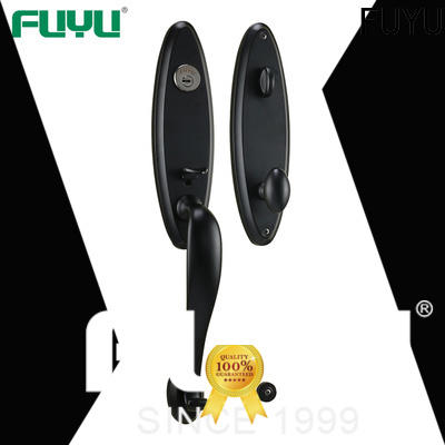 FUYU oem 5 lever lock with latch for indoor