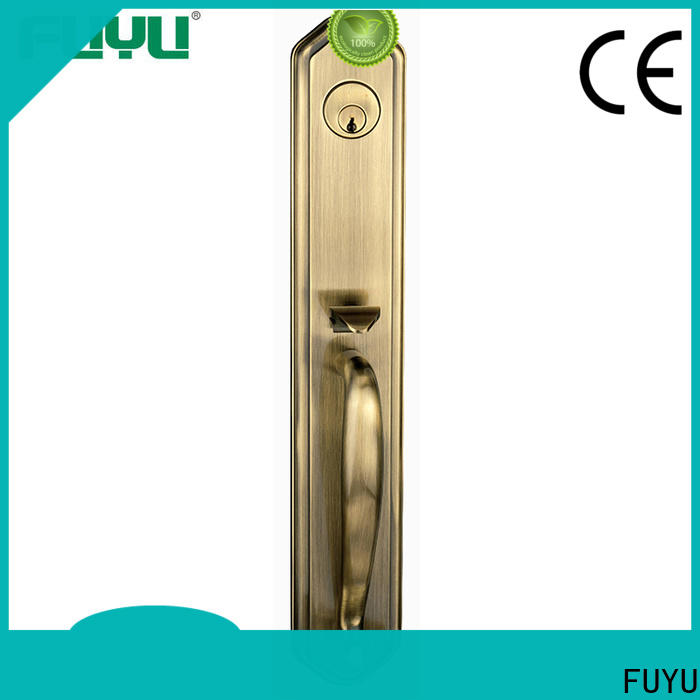 durable anti-theft zinc alloy door lock usa with latch for mall