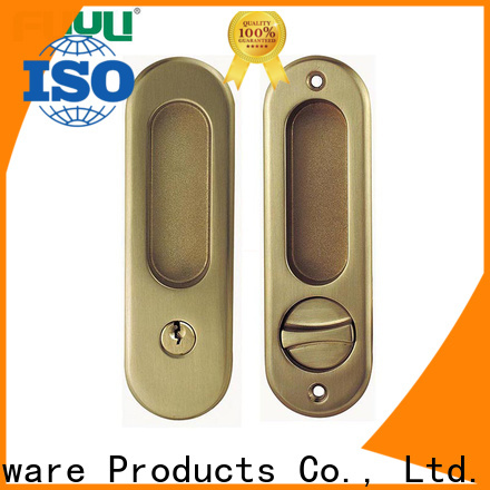 FUYU sliding door lock with key for sale for home