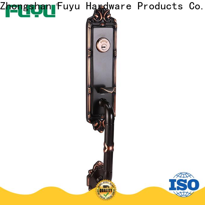 FUYU grip handle door lock supplier for mall