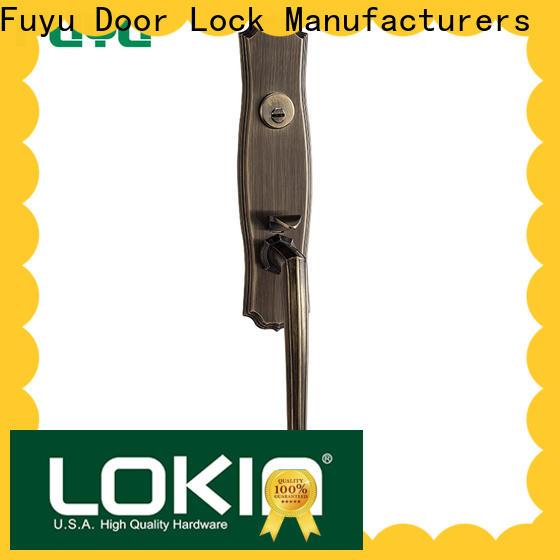 FUYU grip handle door lock for sale for residential