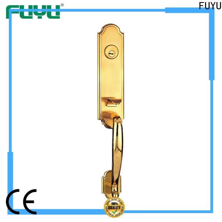 FUYU handle door lock supplier for shop