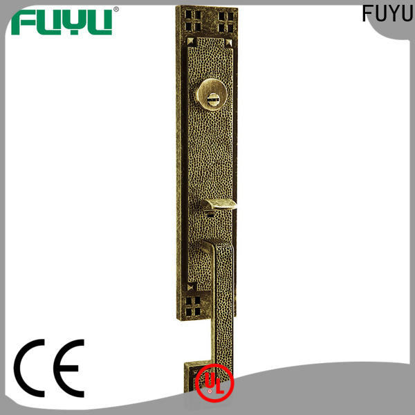 high security handle door lock supplier for residential