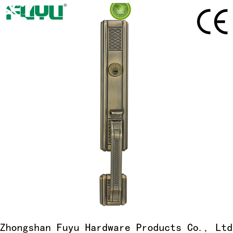 high security grip handle door lock supplier for shop