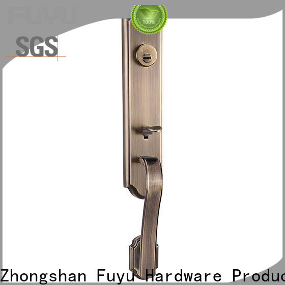 FUYU handle door lock supplier for shop
