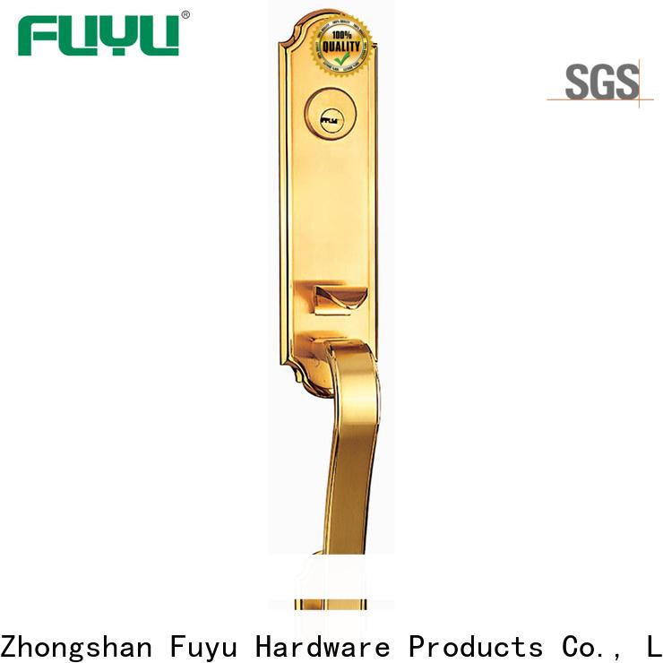 custom handle door lock supplier for shop