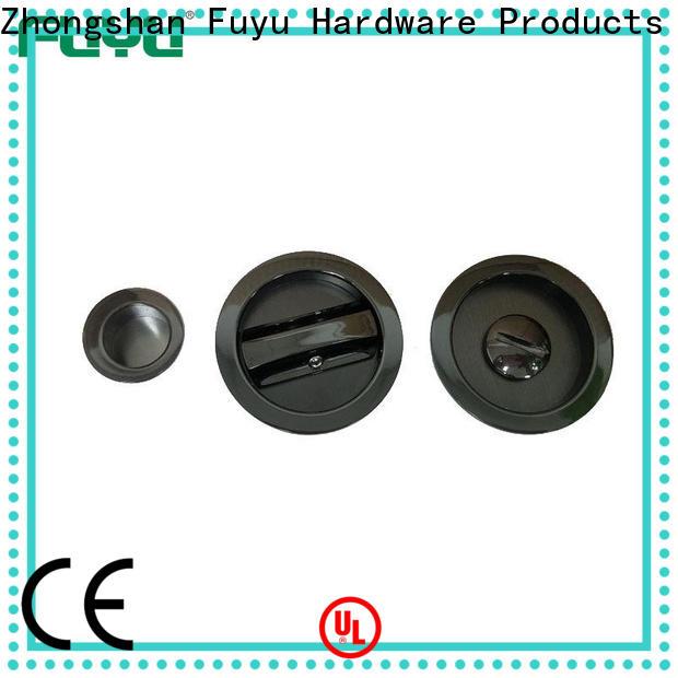 FUYU long zinc alloy entrance door lock with latch for indoor