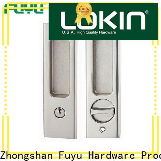 FUYU custom slide door lock manufacturer for home