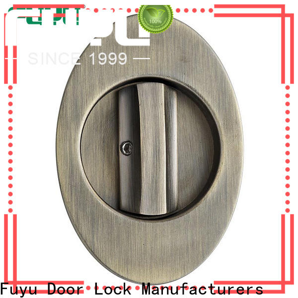 FUYU high quality sliding door lock with key supplier for home