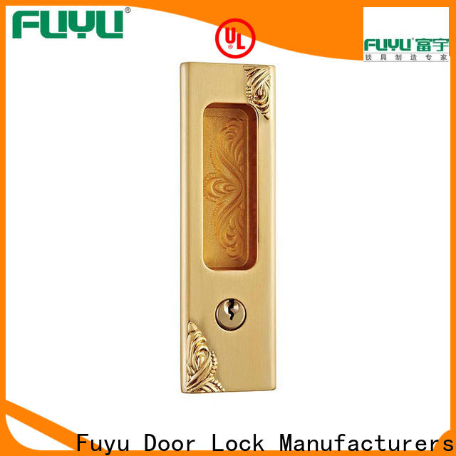 high security sliding door handle with lock supplier for mall