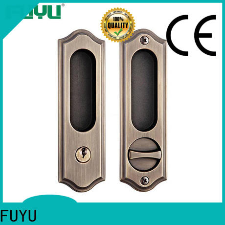 FUYU quality zinc alloy mortise door lock on sale for shop