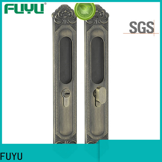 FUYU diecasting zinc alloy lock with latch for indoor