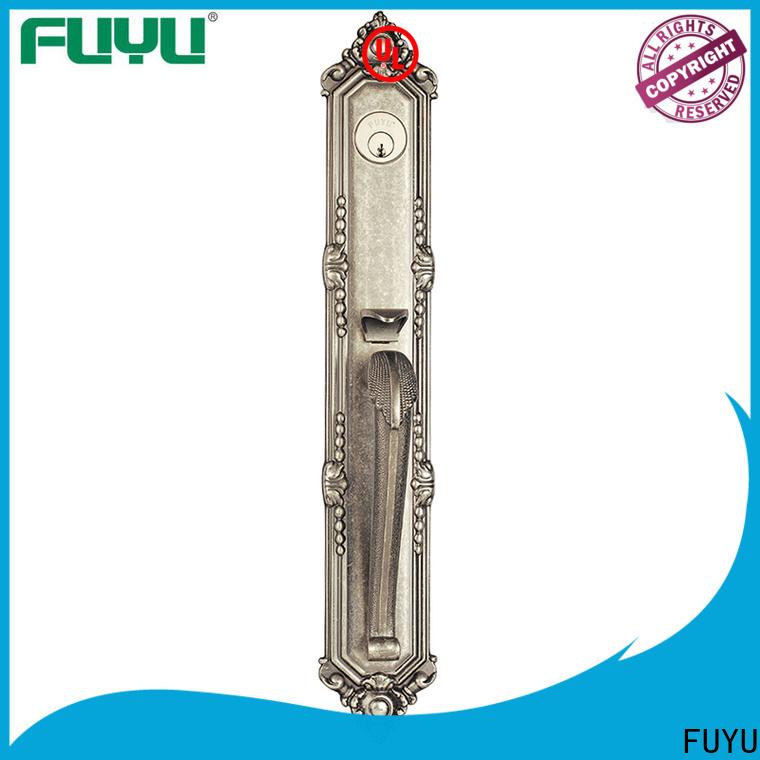 FUYU american zinc alloy entrance door lock on sale for indoor