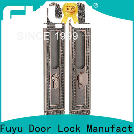 high security slide door lock supplier for mall
