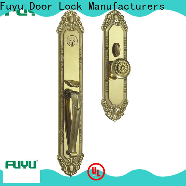 FUYU custom high security door locks manufacturer for entry door