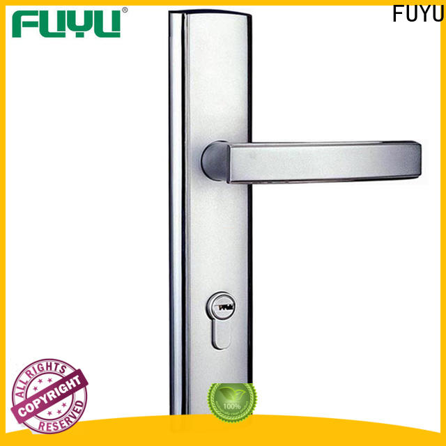 FUYU high security mortise door lock set with international standard for mall