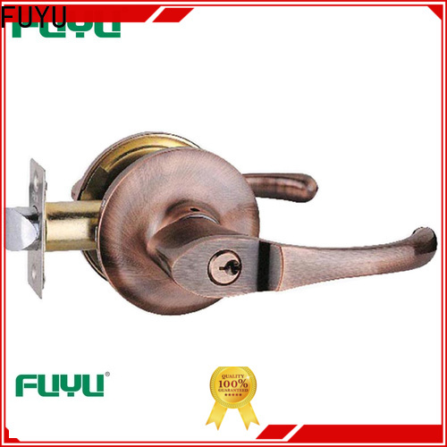 FUYU quality bathroom door handle with lock meet your demands for indoor
