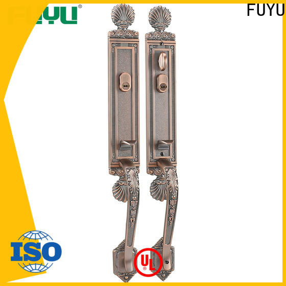 FUYU oem zinc alloy lock on sale for entry door