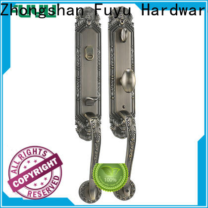 FUYU profile 3 lever lock with latch for indoor