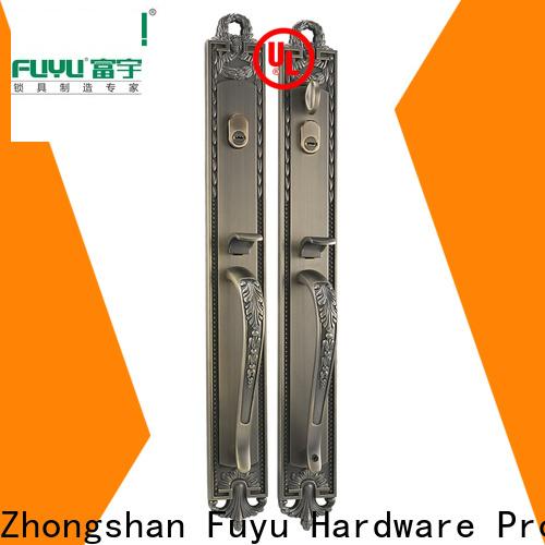 FUYU oem zinc alloy door lock for timber door on sale for mall