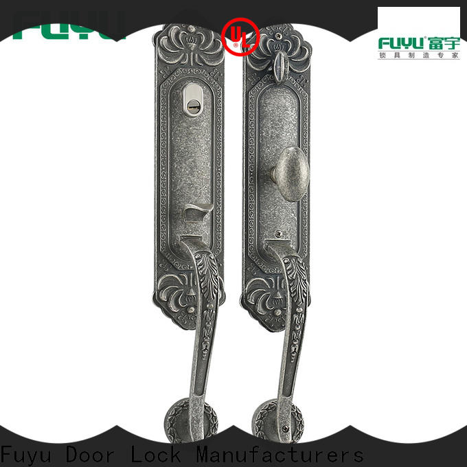 FUYU locks zinc alloy villa door lock with latch for entry door