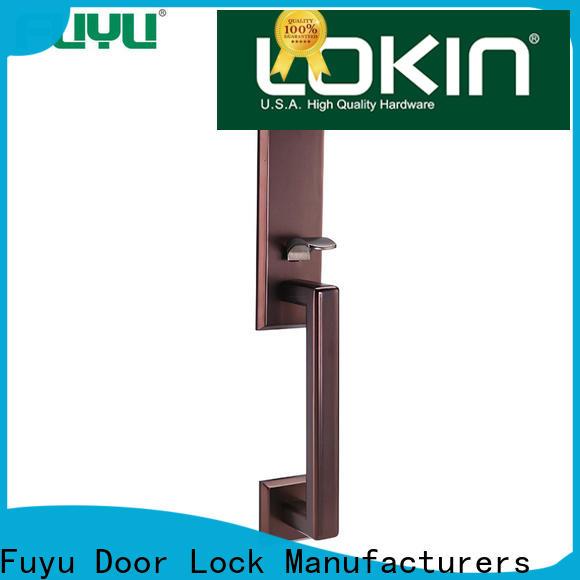 FUYU durable zinc alloy door lock for wood door meet your demands for mall