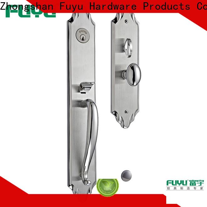 FUYU high security door locks manufacturer for entry door