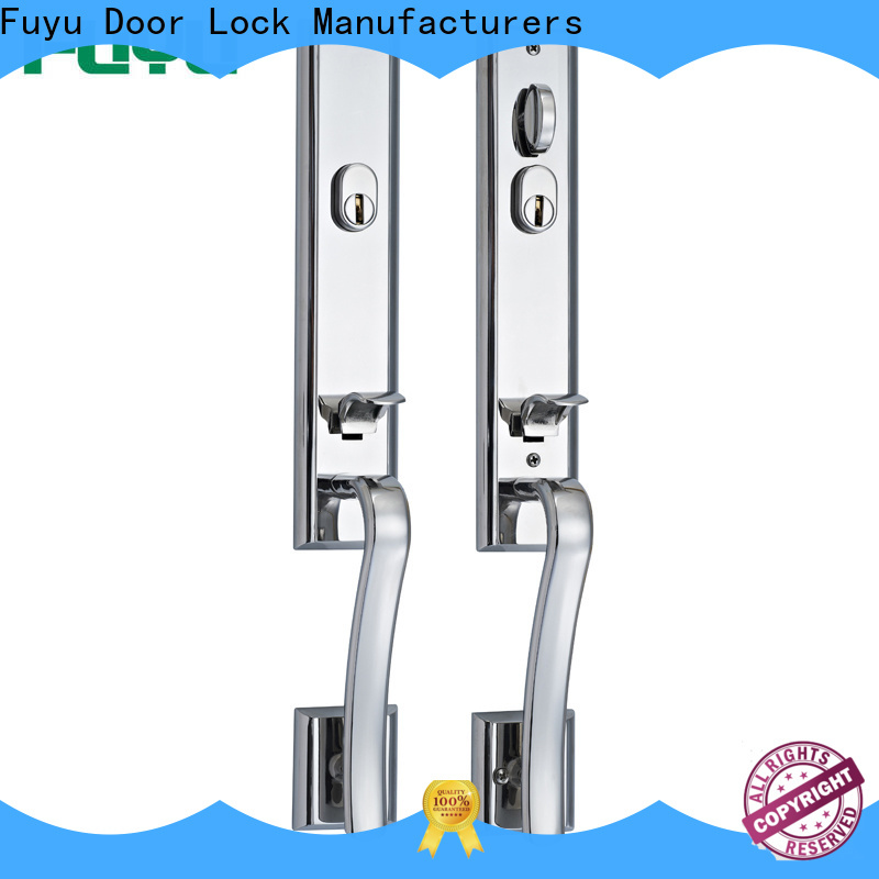 FUYU custom grip handle door lock for sale for residential