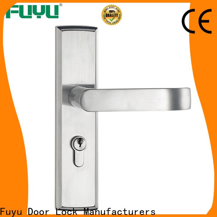 FUYU custom main door locks with international standard for shop