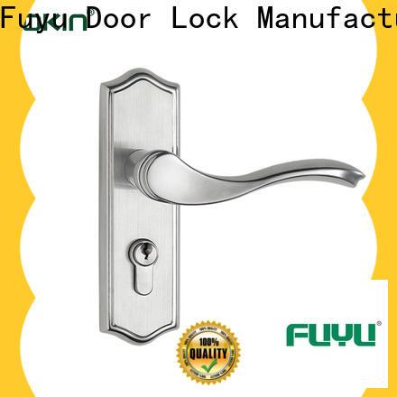 FUYU handle steel door locks on sale for home