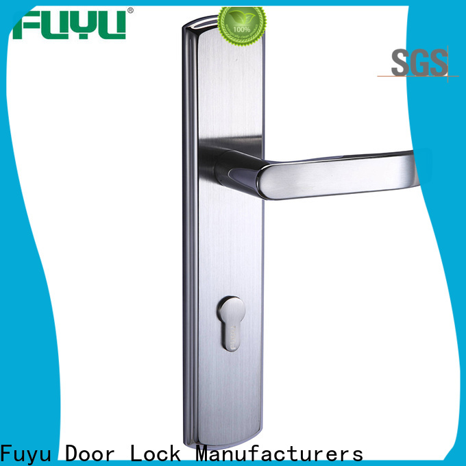 FUYU quality stainless steel mortice lock on sale for mall