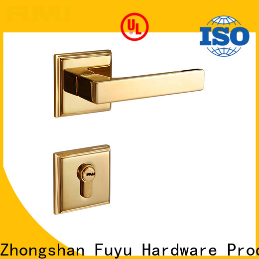 FUYU quality customized brass door lock meet your demands for home