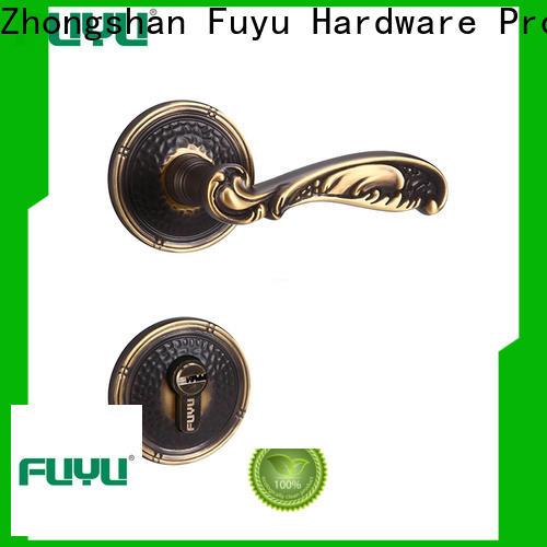 FUYU door knob rosette plate manufacturer for toilet