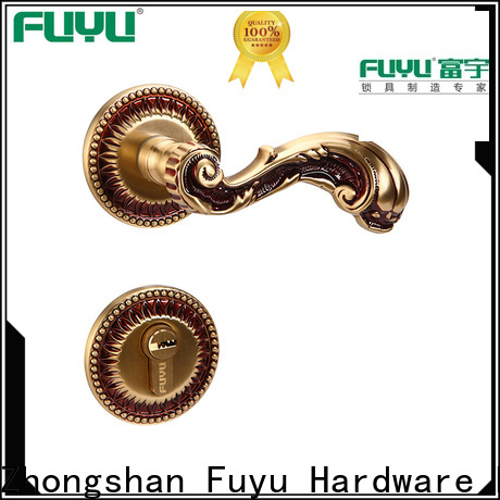 FUYU custom rosette lock manufacturer for entry door